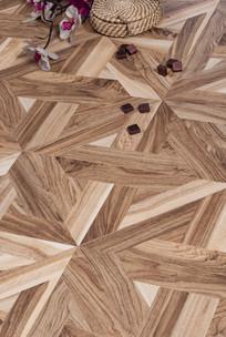 深浅原木纹理欧式地板