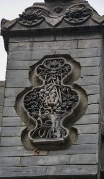 福字花纹雕刻