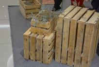 木箱子装饰