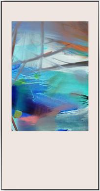 抽象油画无框画装饰画