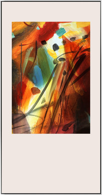 抽象油画现代装饰画
