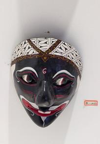 馆藏印尼面具