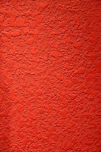 红色不规则纹理墙面