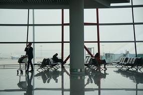 机场候机人