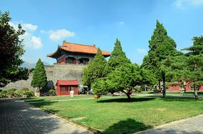 泰安岱庙摄影图