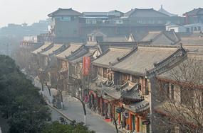 唐代风格古城建筑