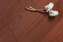 棕色欧式地板