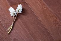 棕色欧式地板横构图