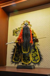 京剧人物木偶