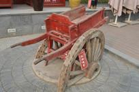 复古架子木车