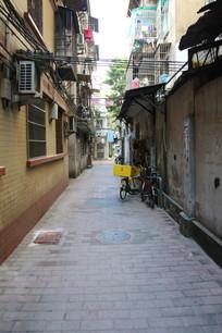 广东民居街道小路