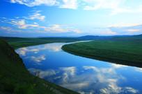 静静的额尔古纳河