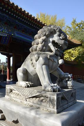 景山清代石雕狮子