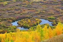 马蹄湖秋色