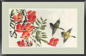 新中式风格装饰画 水墨画