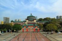 重庆特色建筑重庆市人民大礼堂