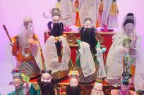 福建漳州布袋戏木偶之福禄寿喜神