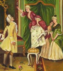 贵族宫廷油画