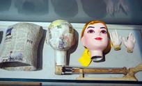 木偶制作材料