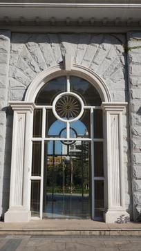欧式风光建筑门窗
