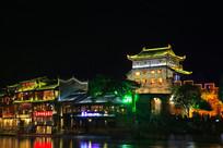 凤凰古城夜色