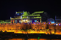 凤凰古城夜色美