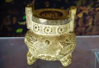 龙纹石香炉
