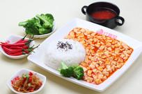 麻辣豆腐美食摄影图