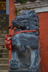 普慈禅寺石狮子