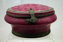 清朝时期圆形梳头桶