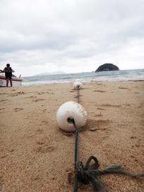 沙滩保护绳