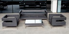 现代商务沙发
