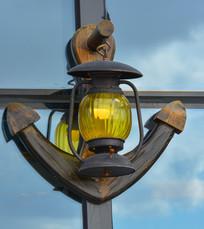 船锚式装饰壁灯