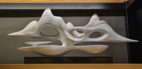 瓷器浮云雕塑