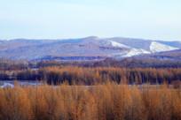 冬季山林风景
