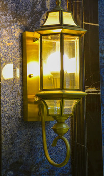 简易的欧式壁灯