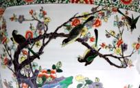 梅花与喜鹊图