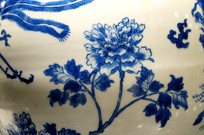 青花牡丹图