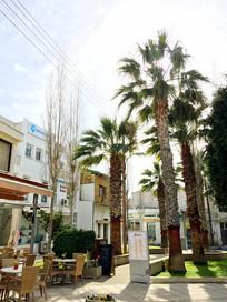 塞浦路斯小镇风景