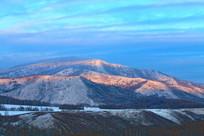 雪野山林雪景