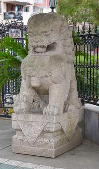 公园石狮子