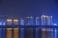 重庆云阳滨江社区夜景