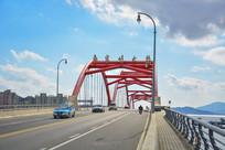 舟山鲁家峙大桥路面