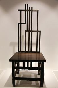创意木雕靠背椅