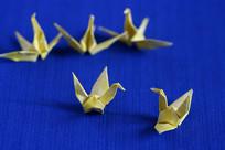 黄色的纸鹤