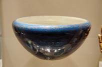 民国时期蓝釉钵