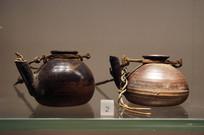 民国时期陶油灯