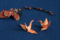 手工制作的工艺品纸鹤