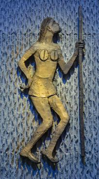 远古人生活雕像祈祷