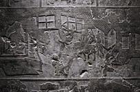 壁雕市井生活刻画